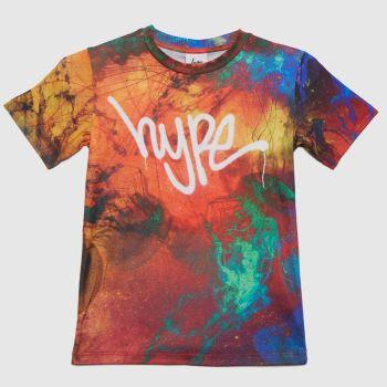 Hype Multi Boys Jelly Fish T-shirt Boys Tops
