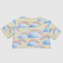 Hype Girls Rainbow Cropped T-shirt,4 of 4