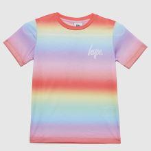 Hype Girls Rainbow Fade T-shirt,1 of 4