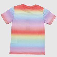 Hype Girls Rainbow Fade T-shirt,4 of 4