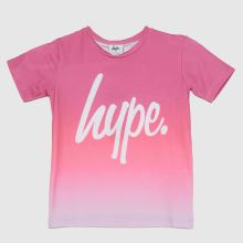 Hype Girls Raspberry Fade T-shirt,1 of 4