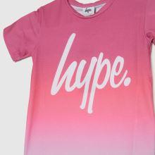 Hype Girls Raspberry Fade T-shirt,2 of 4