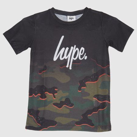 Hype Boys Mutli Camo T-shirttitle=