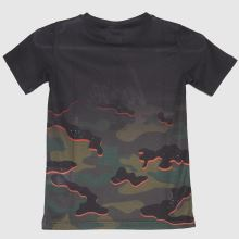 Hype Boys Mutli Camo T-shirt,4 of 4
