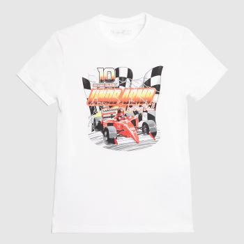 Under Armour White & Red Boys Hoops Nitro T-shirt Boys Tops