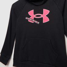 Under Armour Girls Rival Fleece Logo Hoodie 1