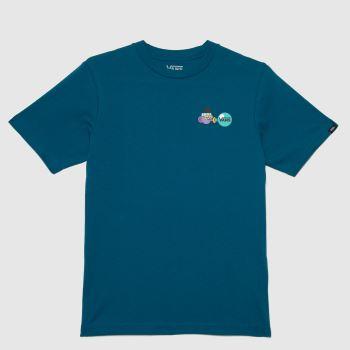 Vans Green Boys Future Standard T-shirt Boys Tops