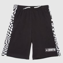 Converse Boys Checker Print Shorts,1 of 4