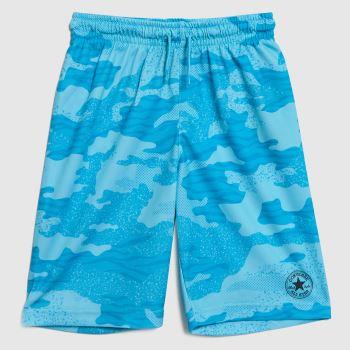 Converse Turquoise Boys Chuck Mesh Shorts Boys Bottoms