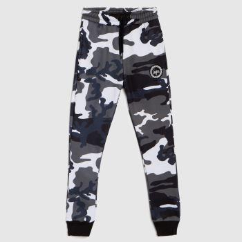 Hype boys joggers civil camo in black & white