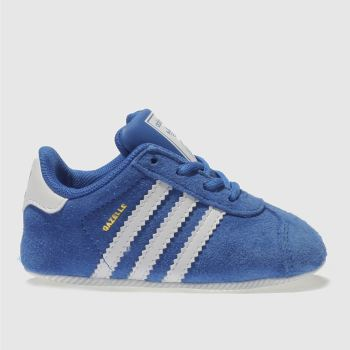 Adidas Blue GAZELLE CRIB Boys Baby