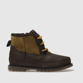 Ugg Dark Brown Bradley Boys Toddler