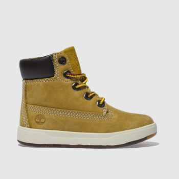 Timberland Natural Davis Square 6 Inch Boys Toddler
