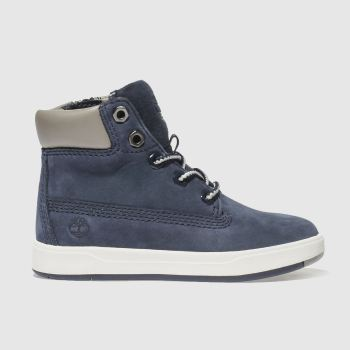 Timberland Navy Davis Square 6 Inch Boys Toddler#
