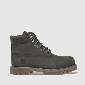 Timberland Dark Grey 6 INCH PREMIUM Boys Toddler