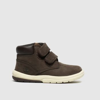 Timberland Dark Brown Toddle Tracks Boys Toddler
