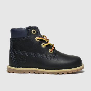 Timberland Navy Pokey Pine Zip Boys Toddler#