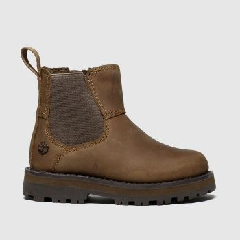Timberland Brown Courma Chelsea Boys Toddler