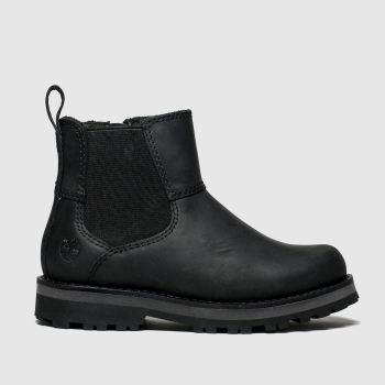 Timberland Black Courma Chelsea Boys Toddler