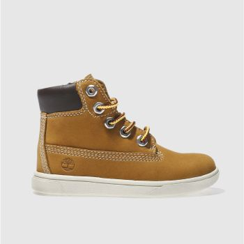 Timberland Tan Groveton 6 Inch Boys Toddler