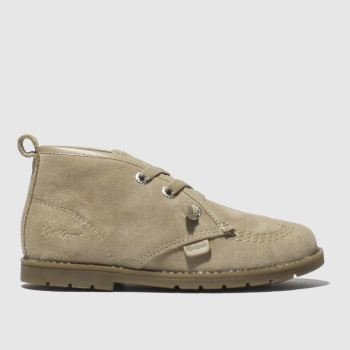 Kickers Tan Orin Desert Boys Toddler