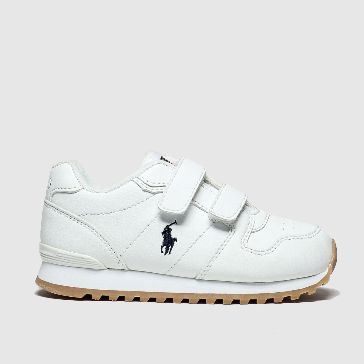 Polo Ralph Lauren White Oryion Boots Toddler