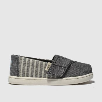 Toms Grey Classic Boys Toddler