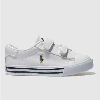 Polo Ralph Lauren White Easten Boys Toddler