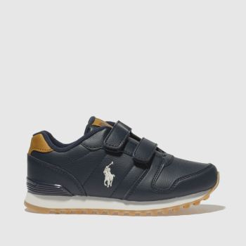 POLO RALPH LAUREN NAVY ORYON BOOTS TODDLER