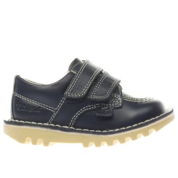 KICKERS NAVY KICK LO VEL BOYS TODDLER SHOES