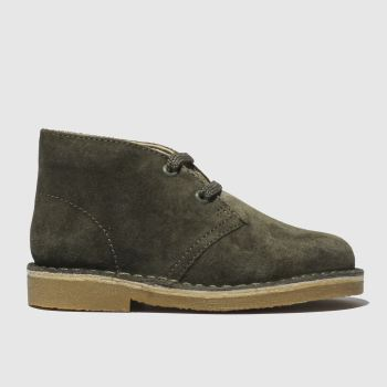 Clarks Khaki Desert First Boys Toddler