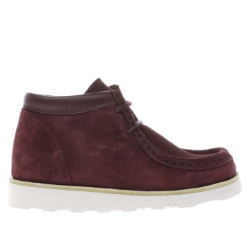 YOUNG SOLES BURGUNDY JOEY BOYS TODDLER BOOTS