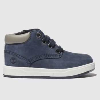 Timberland Navy DAVIS SQUARE Boys Toddler