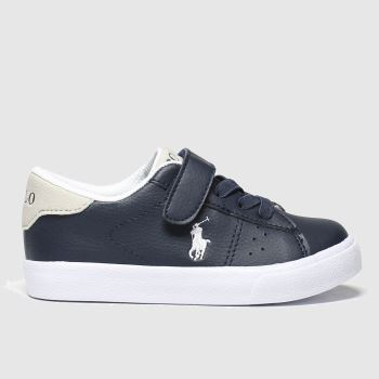 Polo Ralph Lauren Navy & Grey Theron Boys Toddler