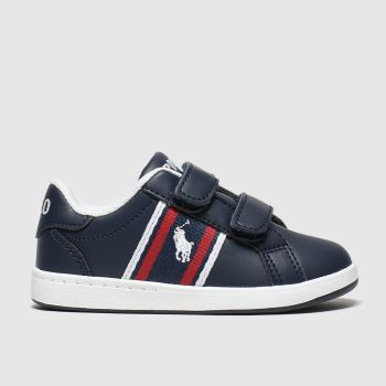 Polo Ralph Lauren Navy & White Oaklynn c2namevalue::Boys Toddler