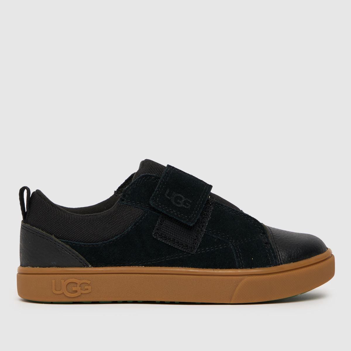 UGG Black Rennon Low Tdlr Boots Toddler