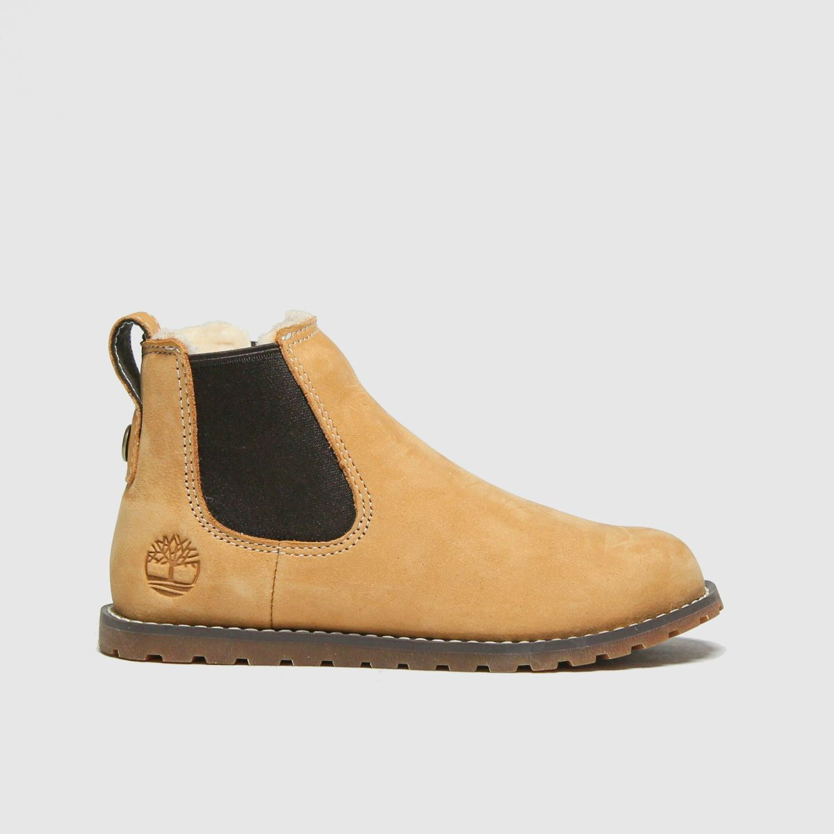 Timberland Natural Pokey Pine Chelsea Boots Toddler