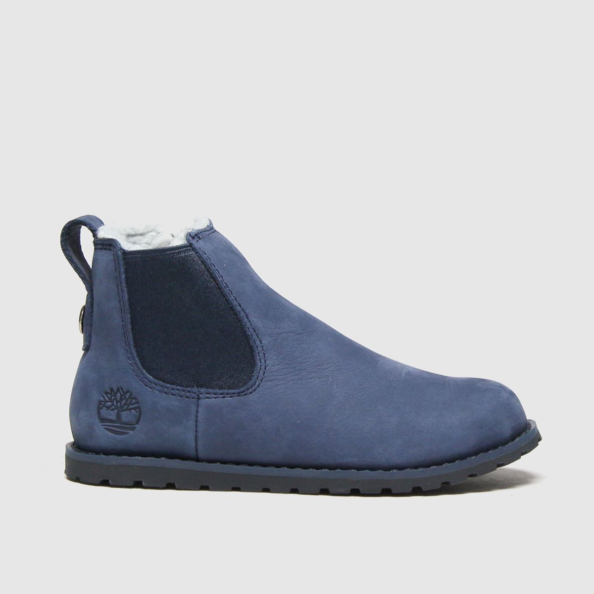 Timberland Navy Pokey Pine Chelsea Boots Toddler