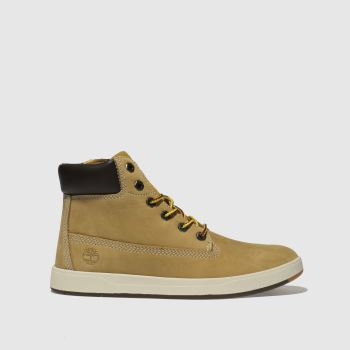 Timberland Natural Davis Square 6 Inch c2namevalue::Boys Junior