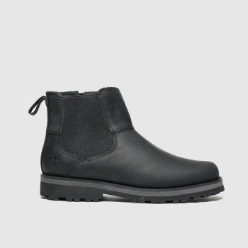 Timberland Black Courma Chelsea Boys Junior