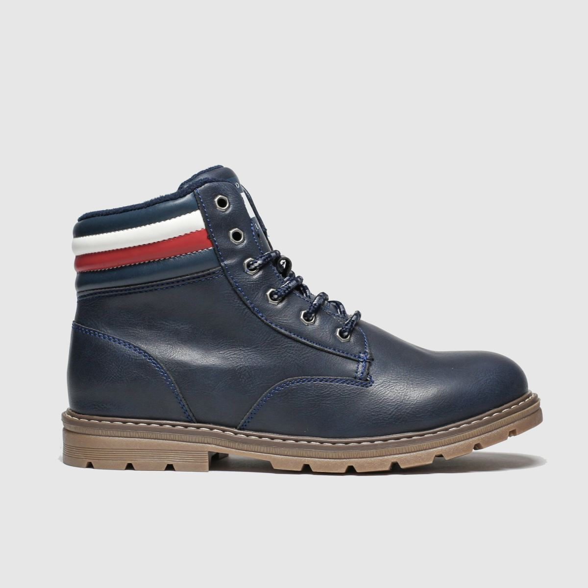 Tommy Hilfiger Navy Lace Up Boot Boots Junior
