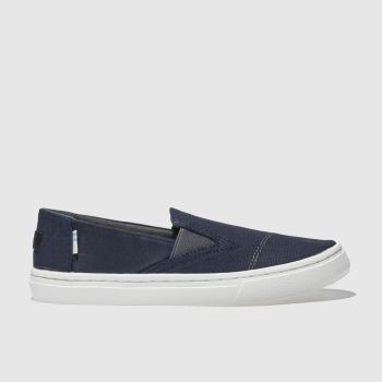 Toms Navy Luca Boys Junior