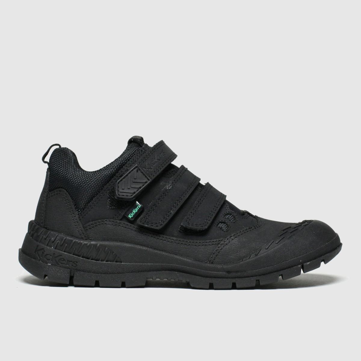 Kickers Black Kick Trukka Mid Shoes Junior