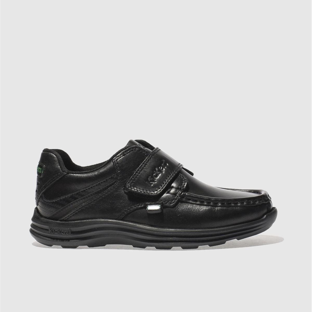 Kickers Black Reasan Strap Shoes Junior