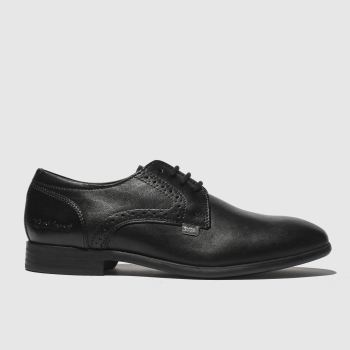 Kickers Black Jarle Lace Up Boys Junior