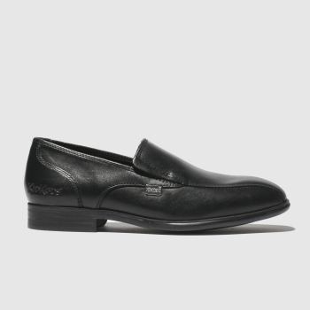Kickers Black Jarle Slip Boys Junior