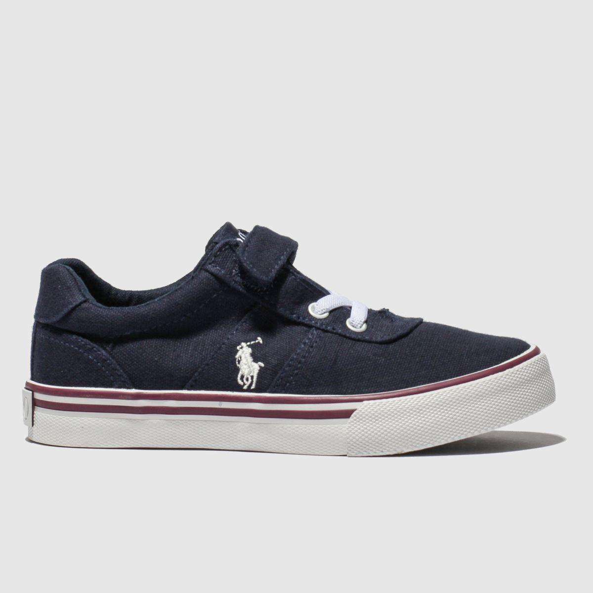 Polo Ralph Lauren Navy Hanford Shoes Junior