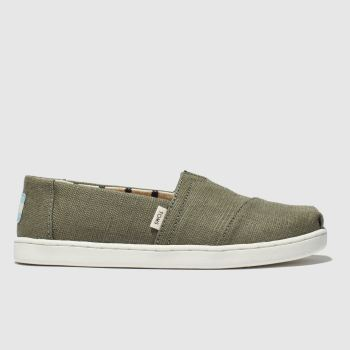 Toms Khaki Classic Boys Junior