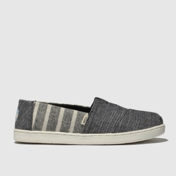 Toms Grey Classic Boys Junior