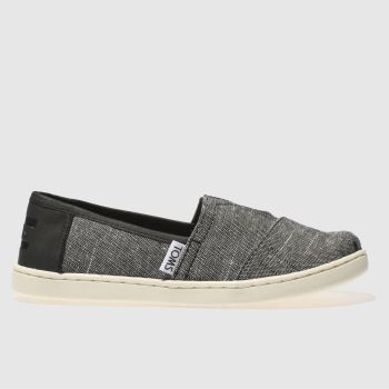 Toms Black Classic Boys Junior